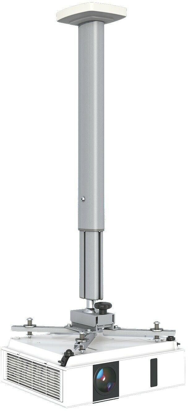 Kindermann Premium 100 biały, uchwyt sufitowy do projektorów