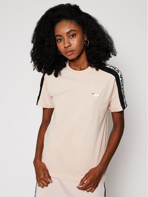 Fila T-Shirt Tamsin 688045 Różowy Regular Fit