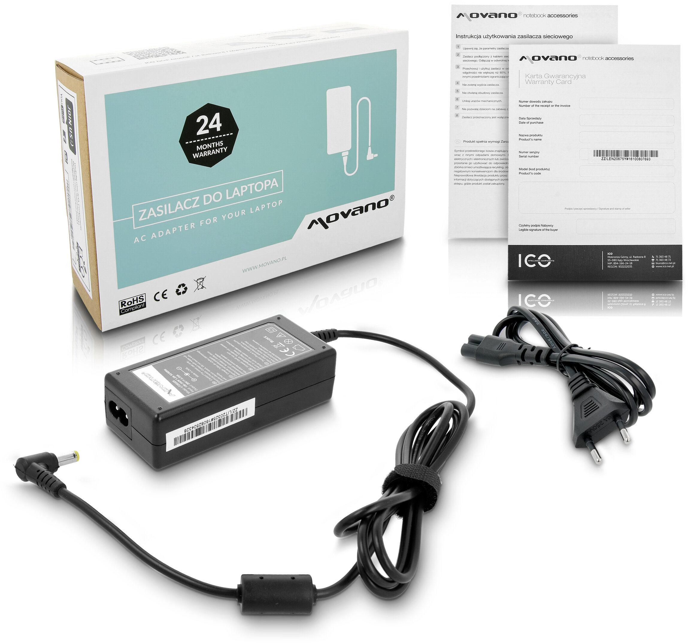 Zasilacz ładowarka do Fujitsu-Siemens Amilo / Amilo Pro Li1720