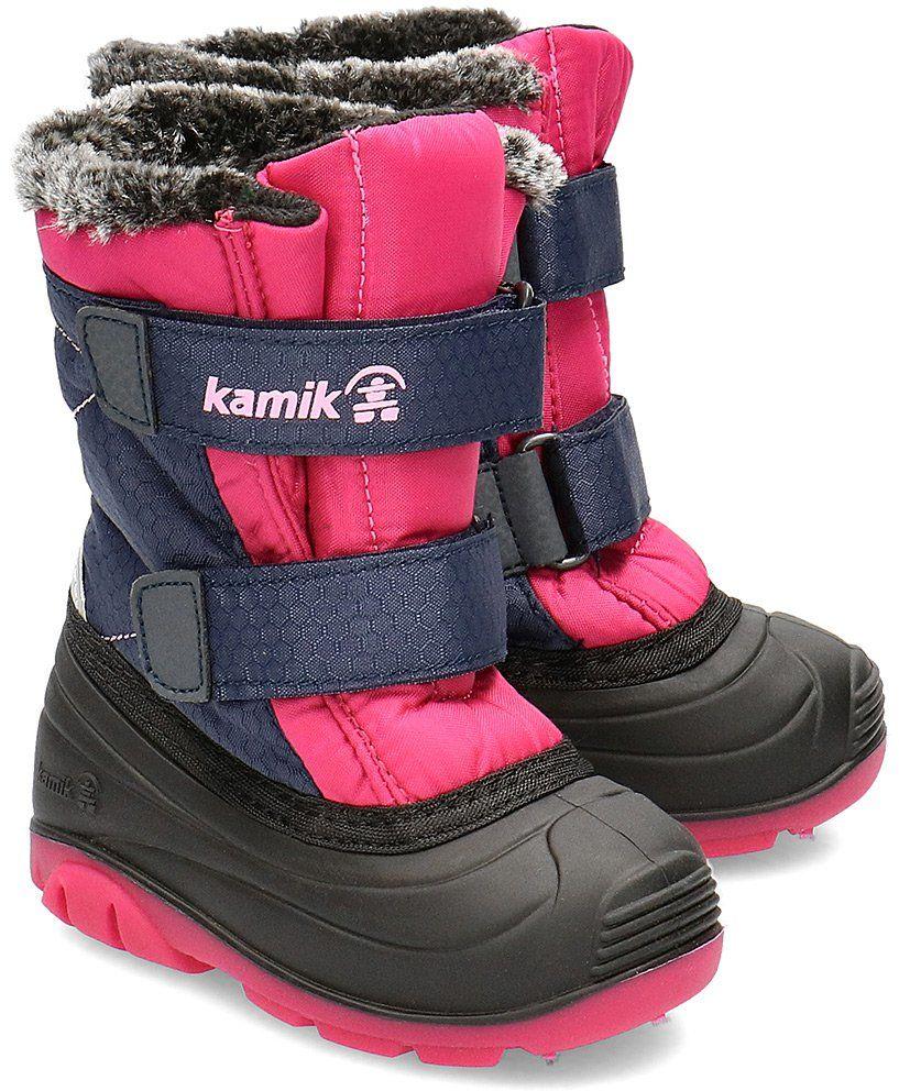 Kamik Sapling - Śniegowce Dziecięce - NF9148C NRO - Wielokolorowy
