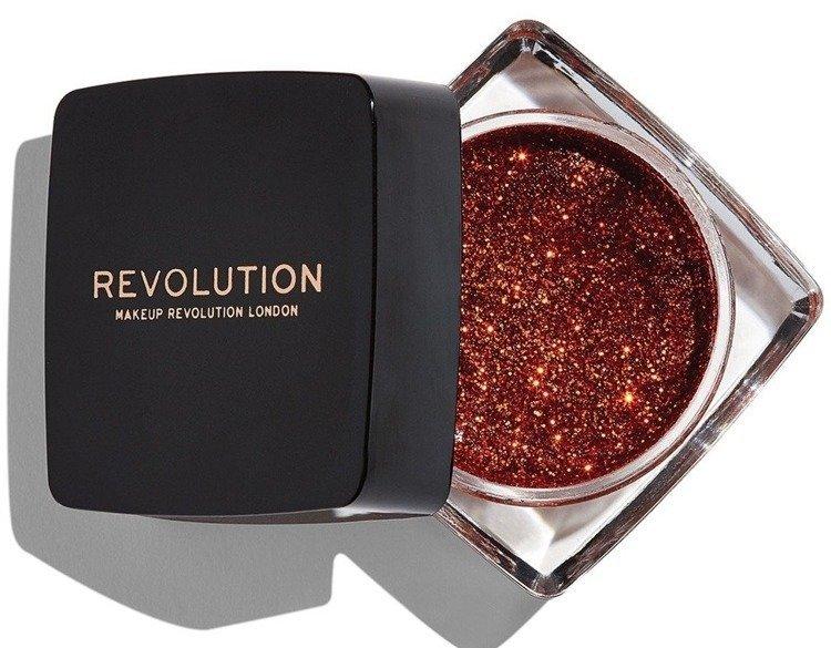 Makeup Revolution Glitter Paste Feels like fire Cień do powiek