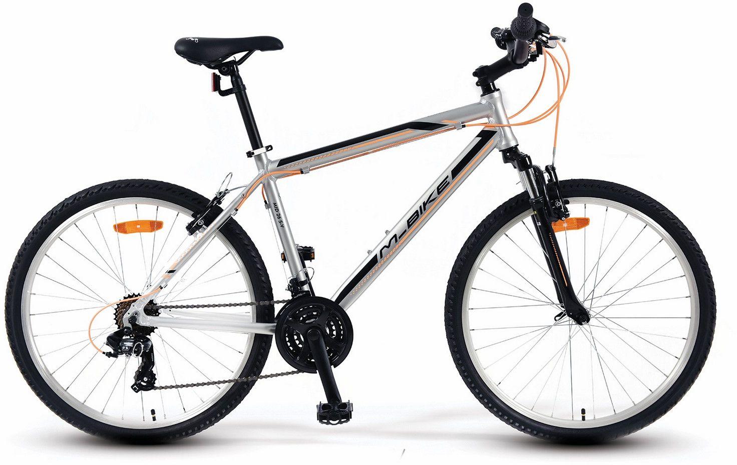 Rower M_Bike MID 26 5-V srebrny 2019