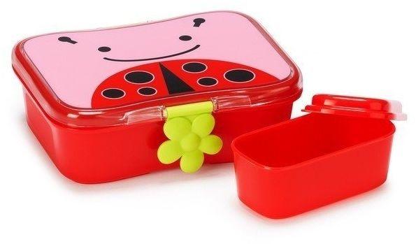 Pudełko śniadaniowe - biedronka