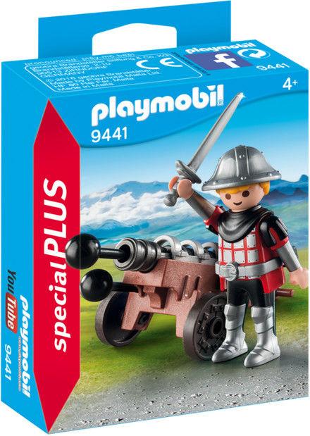 Playmobil - Rycerz z armatą 9441