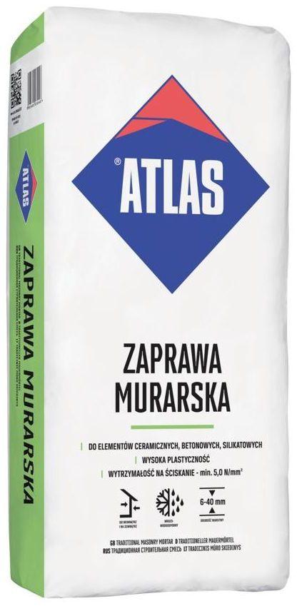 Zaprawa murarska 25 kg ATLAS