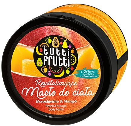 TUTTI FRUTTI Brzoskwinia & Mango masło do ciała 200 ml