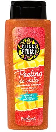 TUTTI FRUTTI Brzoskwinia & Mango peeling do ciała 100 ml