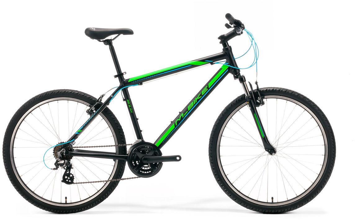 Rower M_Bike MID 26 10-V czarny 2019