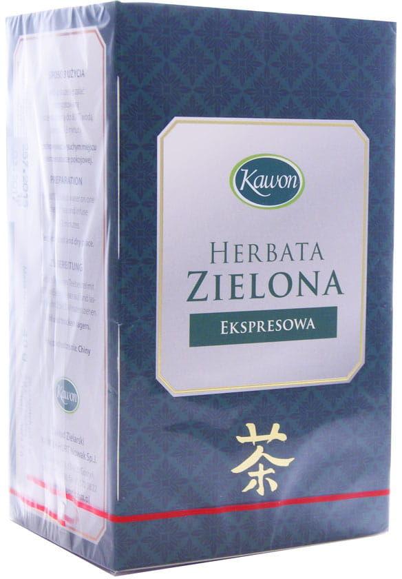 Herbata zielona ekspresowa - Kawon - 20sasz