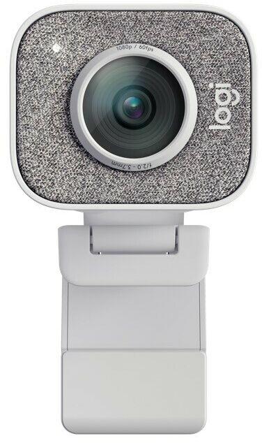 Logitech kamera do streamingu Full HD, 60fps, 78  FOV, Autofokus, Auto-Framing, biała
