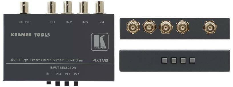 Kramer 4x1VB Mechaniczny przełącznik 4x1 sygnału kompozyt wideo (BNC)