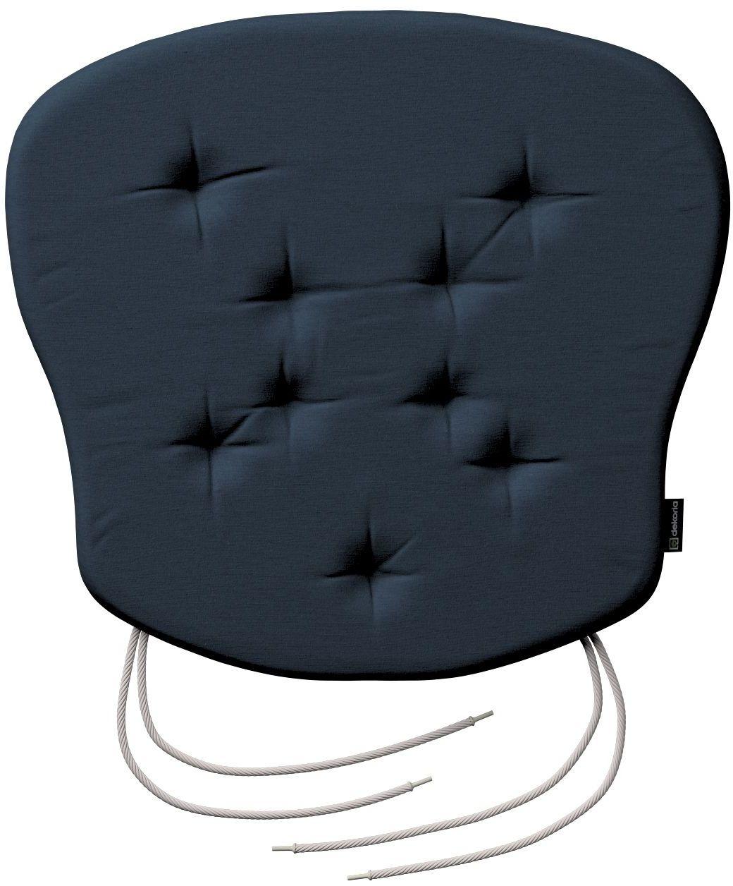 Siedzisko Filip na krzesło, granatowy, 41  38  3,5 cm, Quadro