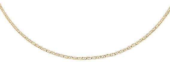 Łańcuszek srebrny 925 Gucci pozłacany