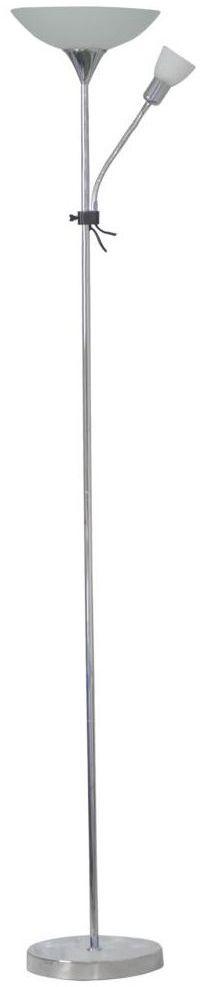 Lampa podłogowa GUSTAV z lampką do czytania E27 + E14 INSPIRE