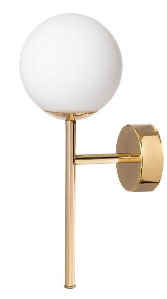 Kinkiet MIJA DECO 20765105 KASPA nowoczesna oprawa w kolorze złotym