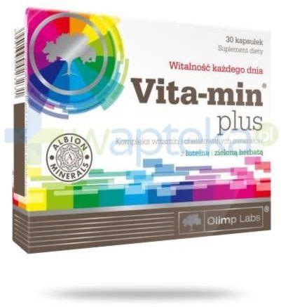 Olimp Vita-Min Plus z luteiną i zieloną herbatą 30 kapsułek