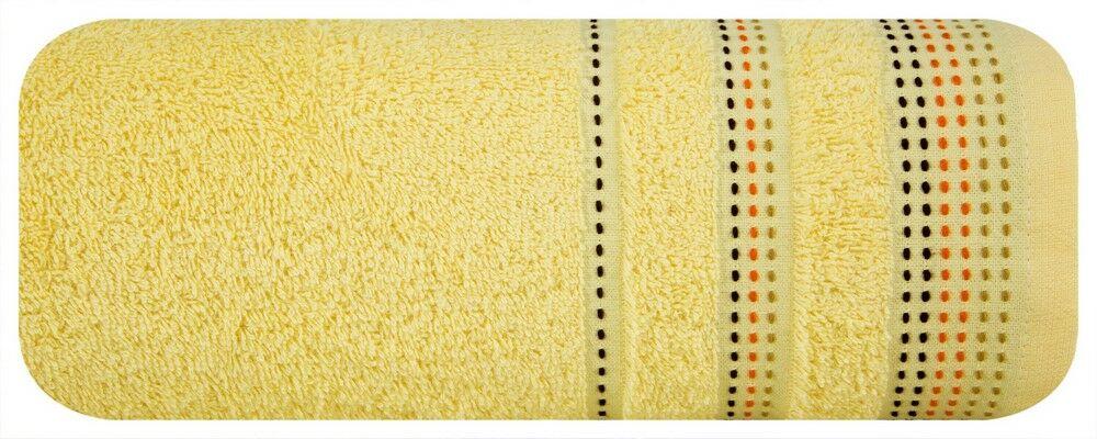 Ręcznik Pola 50x90 02 Żółty Eurofirany