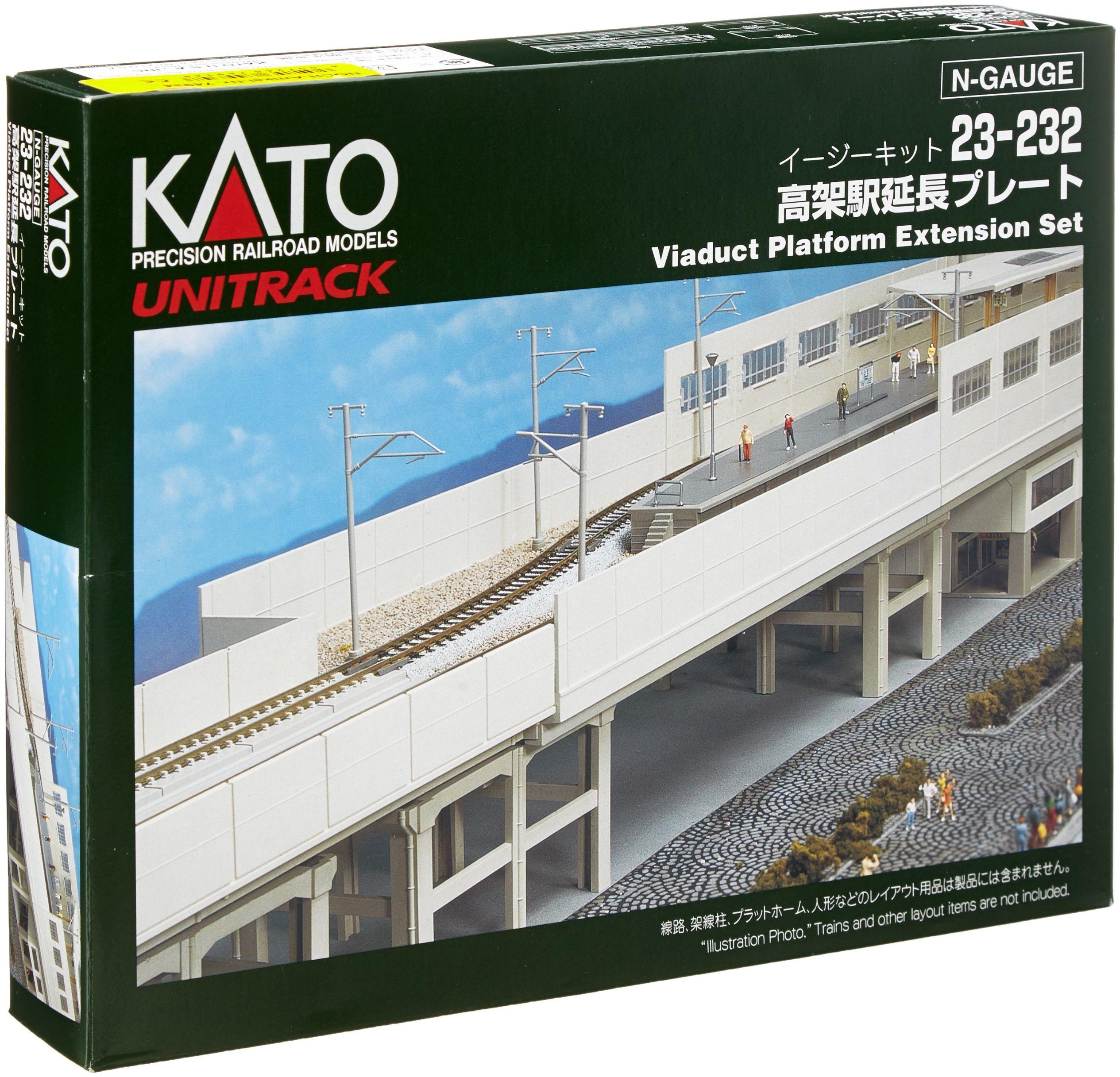 Kato 7074934 - Wiadukt stacja kolejowa