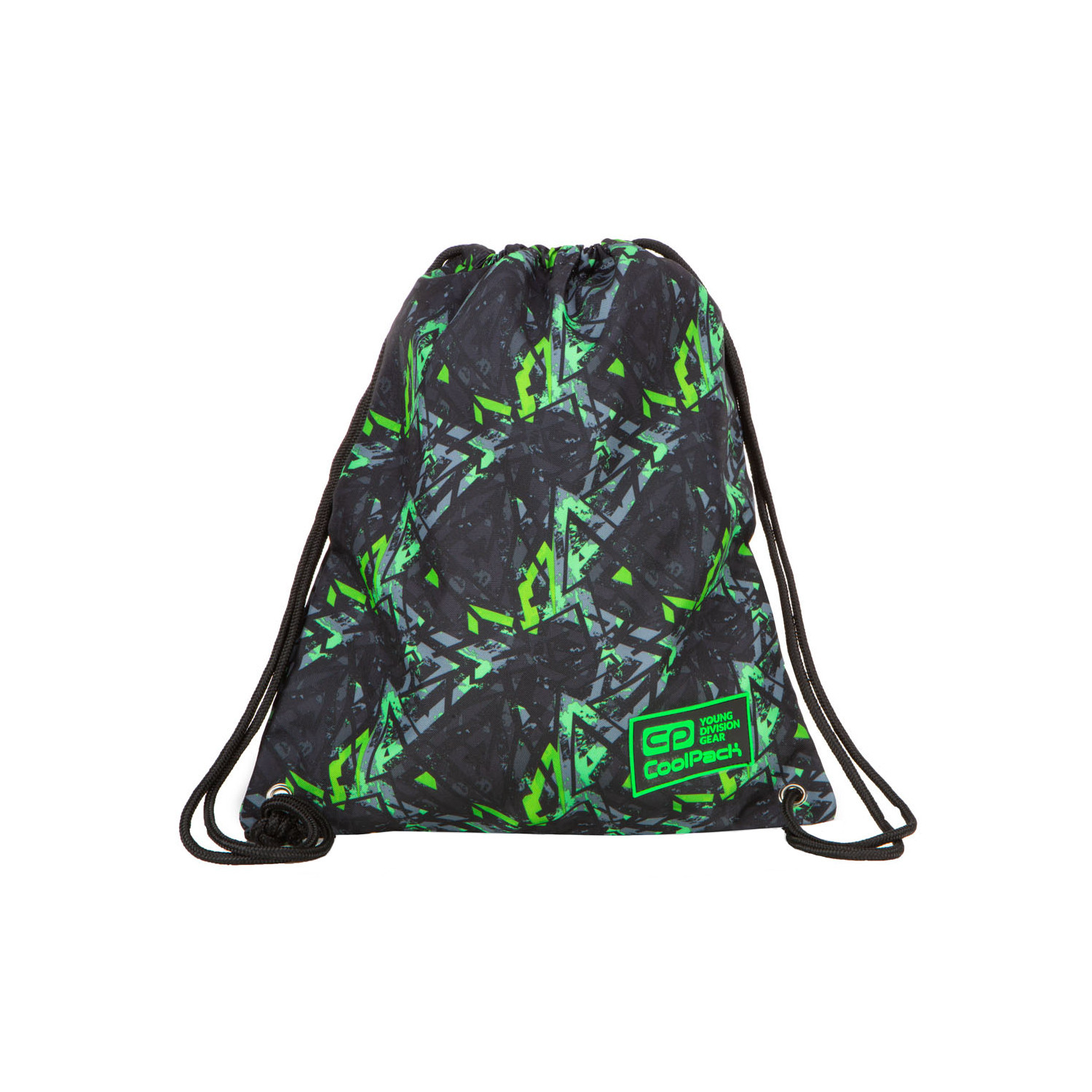Worek sportowy CoolPack Solo Electric Green B72099