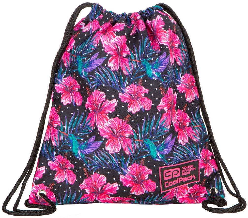 Worek sportowy CoolPack Solo Blossoms B72102
