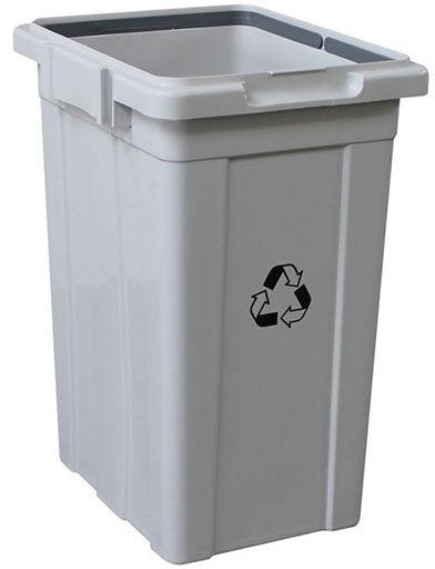 Kosz do segregacji 33 litry Merida plastik szary