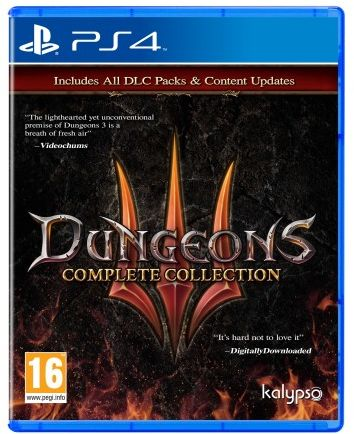 Dungeons III Complete Edition PS 4