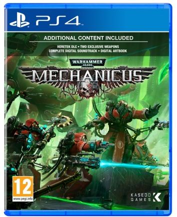 Warhammer 40000 Mechanicus PS 4