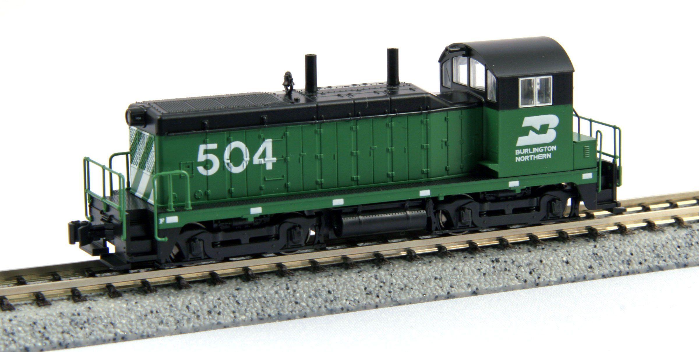 Kato 701764369 - EMD NW2 Burlington North.504 kolejka modelowa