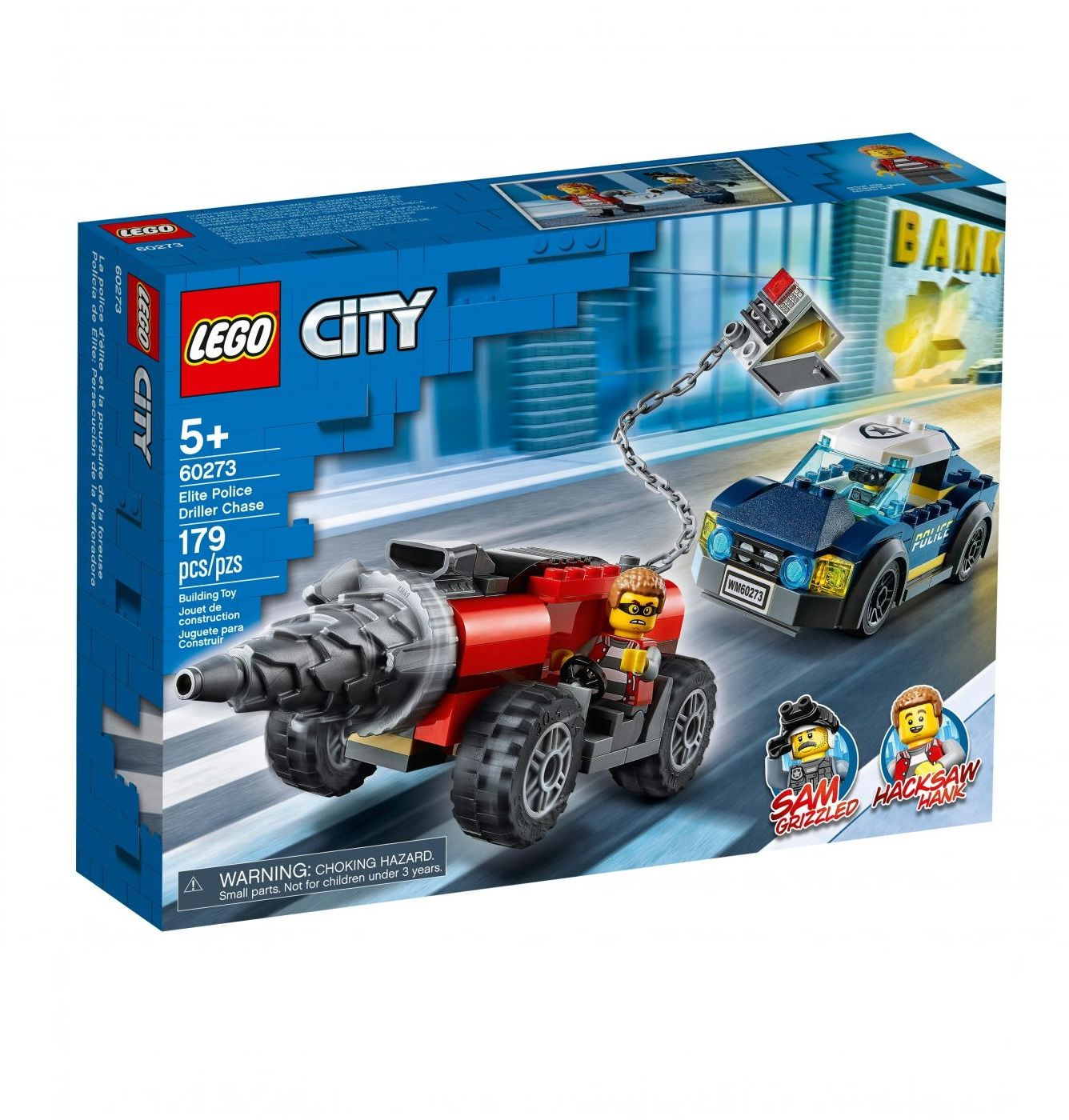 Klocki Lego 60273 City Pościg za wiertnicą