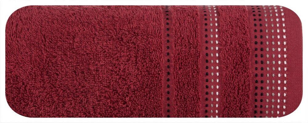 Ręcznik Pola 70x140 20 Bordowy Eurofirany