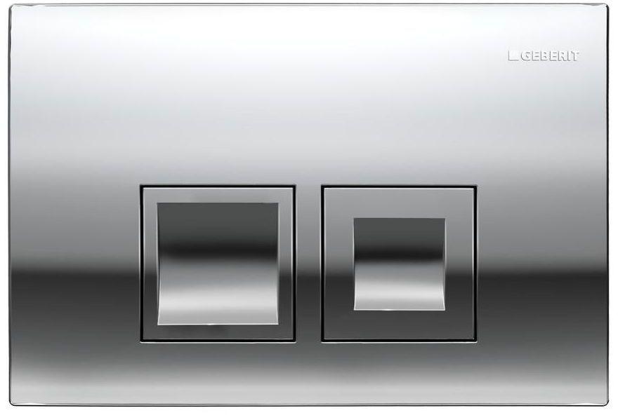 Przycisk spłukujący do stelaża DELTA 50 chrom błyszczący GEBERIT
