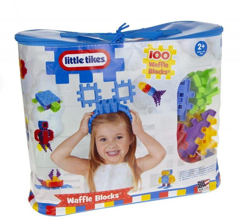 Little Tikes klocki wafle w torbie 100 elem LK