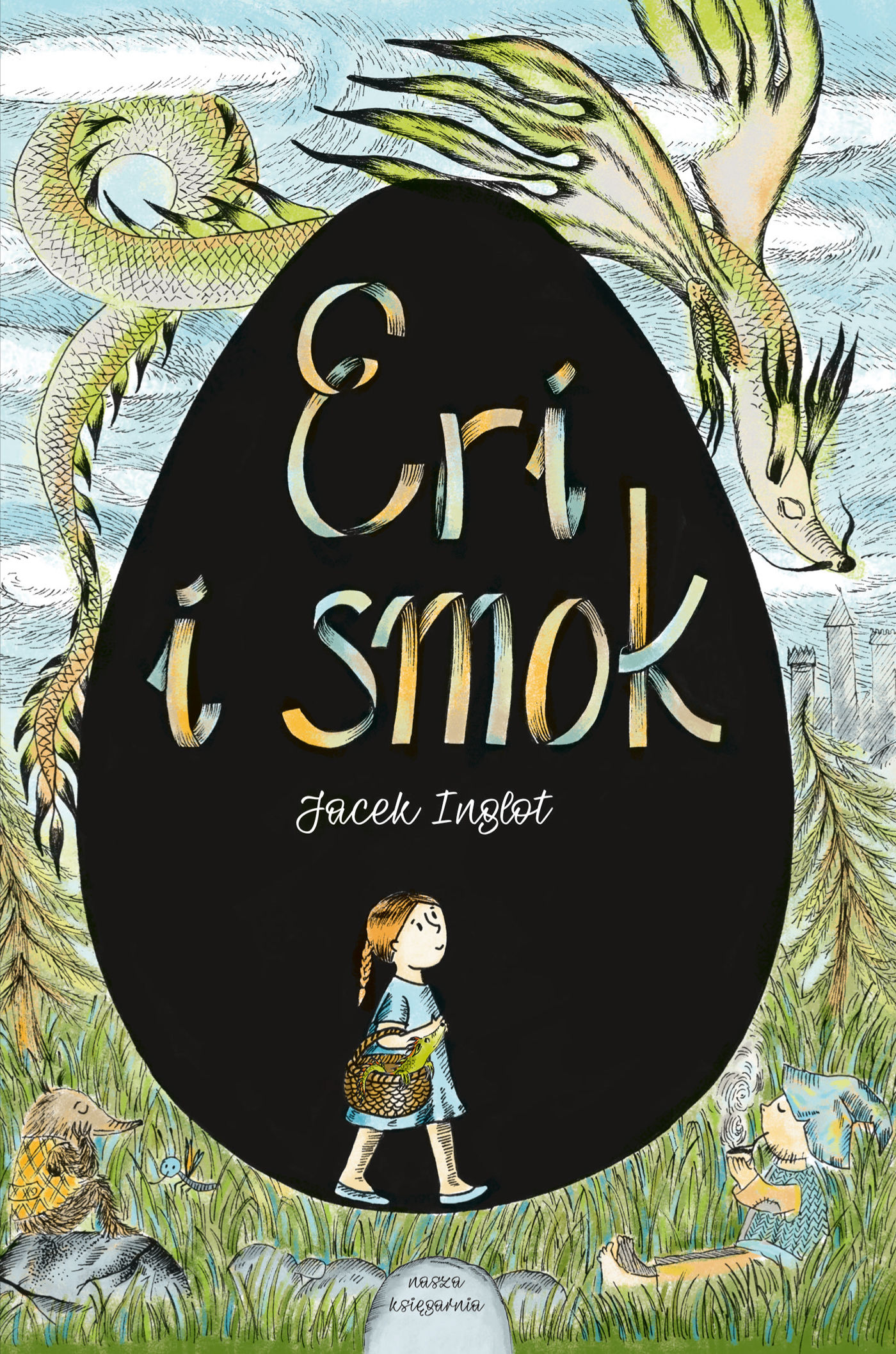 Eri i smok - Jacek Inglot - ebook