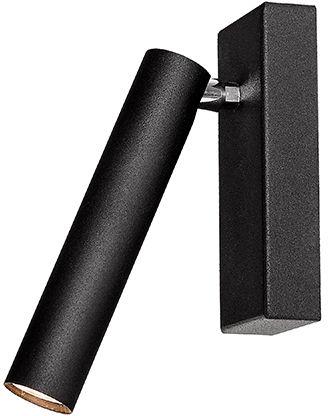 Kinkiet Roll 1 50709102 oprawa czarna Kaspa