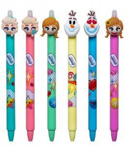 6x długopis wymazywalny FROZEN ( set )