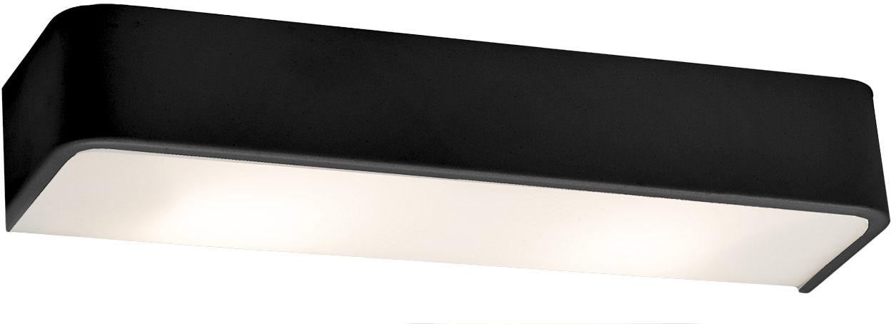 Kinkiet Flat 20301102 oprawa czarna Kaspa
