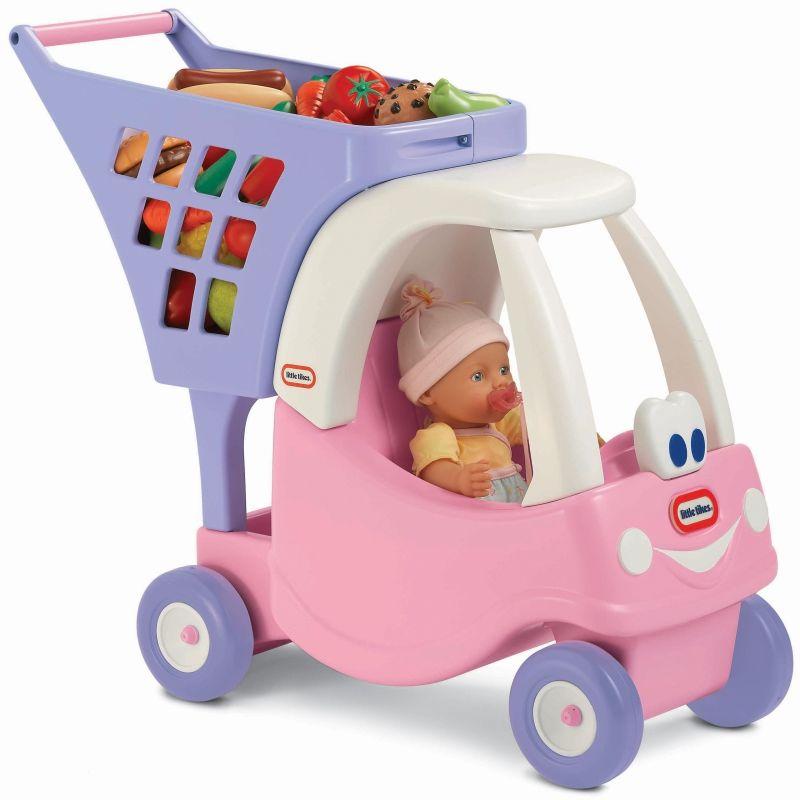Wózek na zakupy dla dzieci Cozy Coupe Little Tikes różowy LK