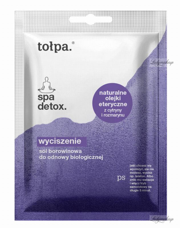 Tołpa - Spa Detox - Sól borowinowa do odnowy biologicznej - Cytryna i Rozmaryn - 60 g