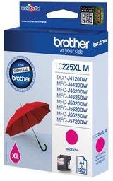 Tusz Oryginalny Brother LC225 DCP-J4120DW MFC-J4420DW MFC-J4625DW MFC-J5320DW LC225XLM Magenta