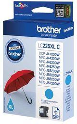 Tusz Oryginalny Brother LC225 DCP-J4120DW MFC-J4420DW MFC-J4625DW MFC-J5320DW LC225XLC Niebieski