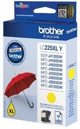Tusz Oryginalny Brother LC225 DCP-J4120DW MFC-J4420DW MFC-J4625DW MFC-J5320DW LC225XLY Żółty