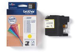 Tusz Oryginalny Brother LC223 DCP-J4120DW MFC-J4420DW MFC-J4625DW MFC-J5320DW LC223Y Żółty