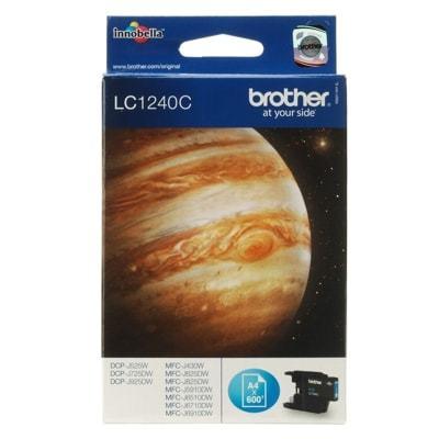 Tusz Oryginalny Brother LC-1240 C (LC1240C) (Błękitny) - DARMOWA DOSTAWA w 24h