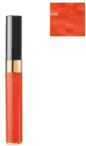 Chanel Levres Scintillantes Aqua Glossmier Błyszczyk do ust nr 604 Sirocco - 6ml Do każdego zamówienia upominek gratis.