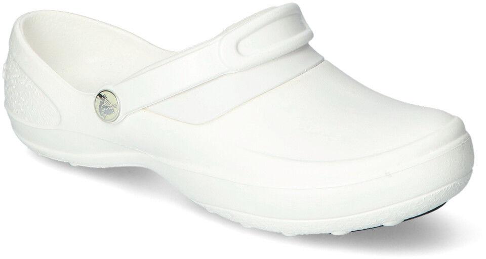 Klapki Crocs MERCY WORK 10876-143 Białe