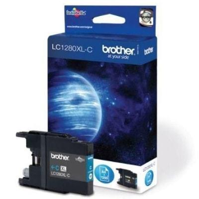 Tusz Oryginalny Brother LC-1280 XL C (LC1280XLC) (Błękitny) - DARMOWA DOSTAWA w 24h
