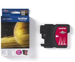 Tusz Oryginalny Brother LC1100 DCP-185C DCP-395C DCP-6690CW MFC-5890CN LC1100M Magenta