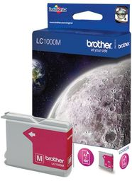 Tusz Oryginalny Brother LC1000 DCP-130C DCP-330C DCP-750CW MFC-465CN LC1000M Magenta