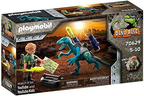 Playmobil - Dinos Deinonychus: Ready for Battle