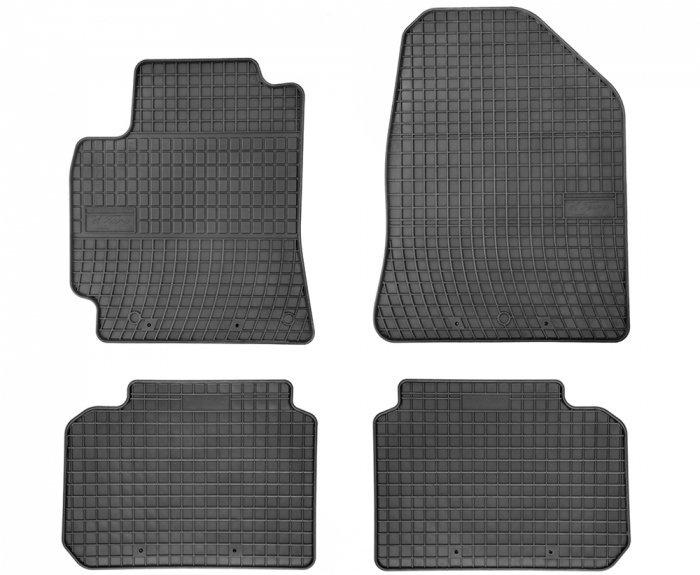 Dywaniki gumowe czarne HYUNDAI Elantra VI 2015-2020